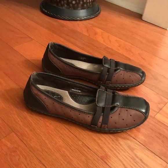 Women's Shoes Comfort Shoes Qualified Boc Born Concept Black Leather Clogs Size 8 Euc Leather Insole